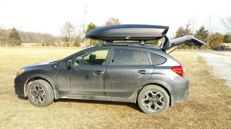 Who Has A Cargo Box On The Crosstrek Subaru Xv Crosstrek Forums