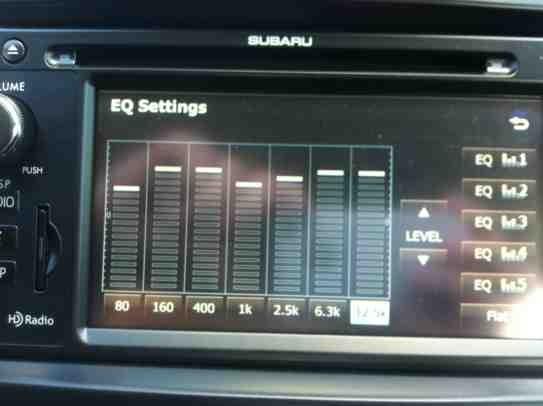 Show me your EQ settings | Subaru XV Crosstrek Forums