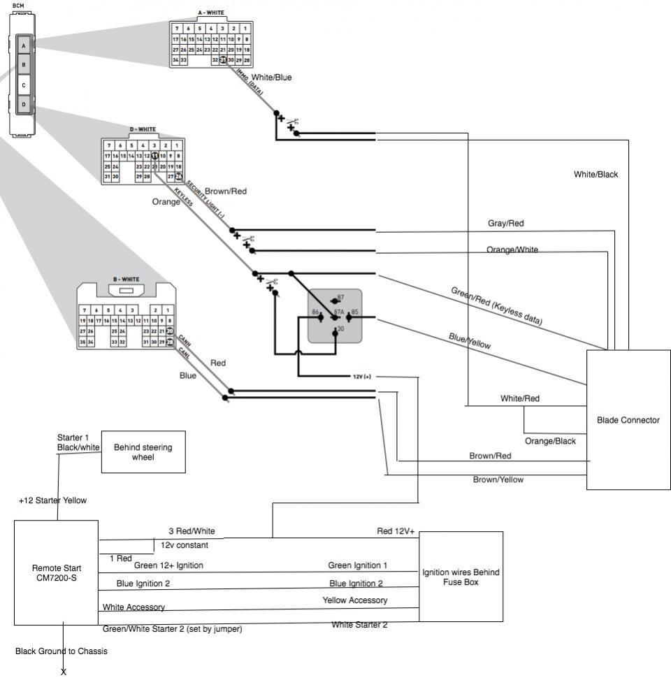 viper remote starter wiring diagram model year 2012 to 2017 tutorial remote start installation on  remote start installation