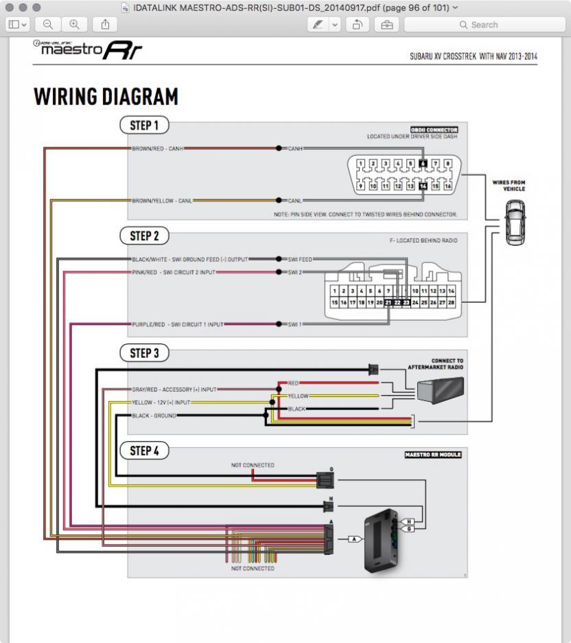 Maestro Rr Wiring Diagram from www.subaruxvforum.com