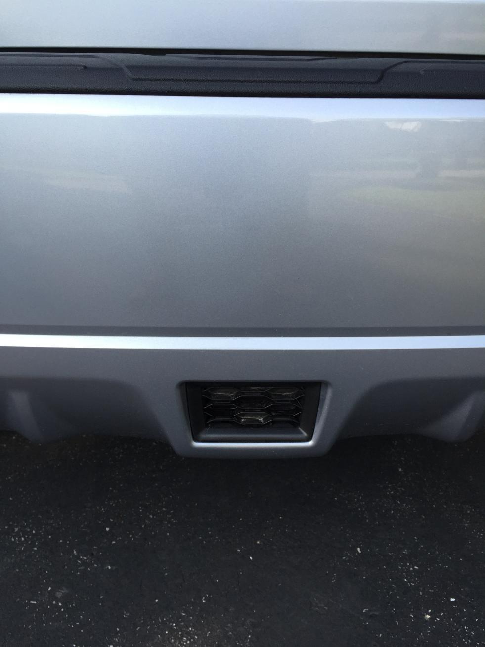 Subaru 2015-2016 WRX STi Rear Bumper Cover Center OEM NEW ...