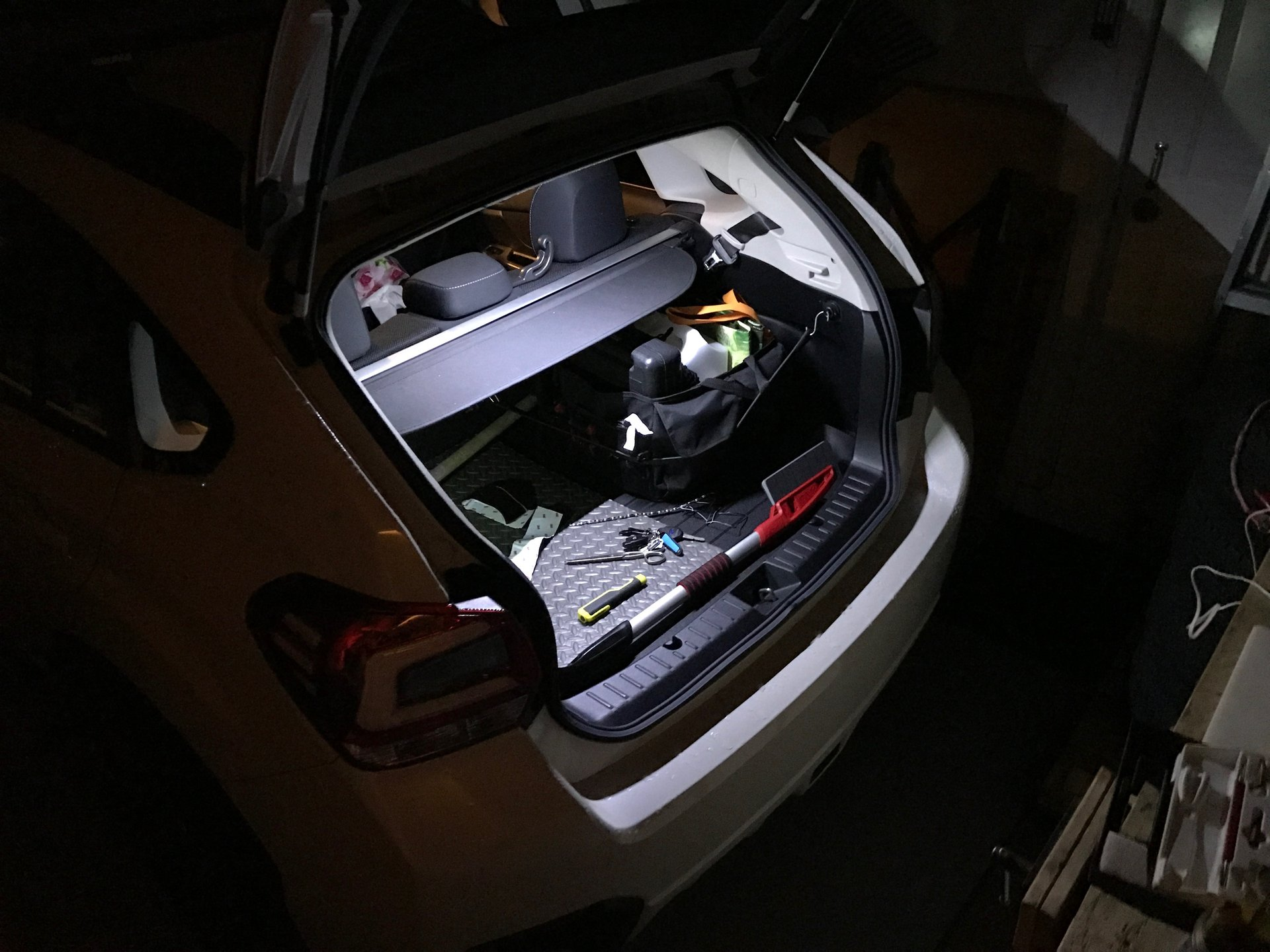 Cargo Lights Mod No Drill + Replaceable    Subaru XV Crosstrek Forums