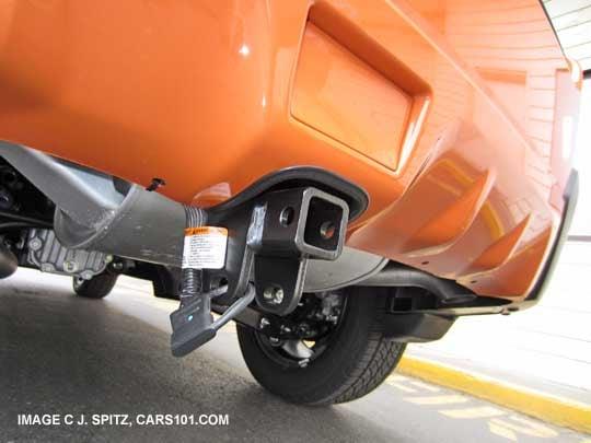 bike rack hitch receiver | Subaru XV Crosstrek Forums
